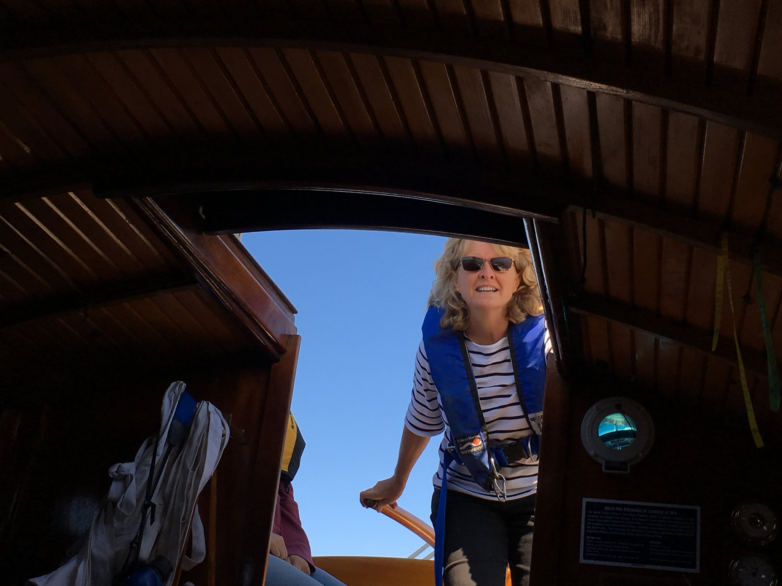 Sailing PAX on Port Townsend Bay