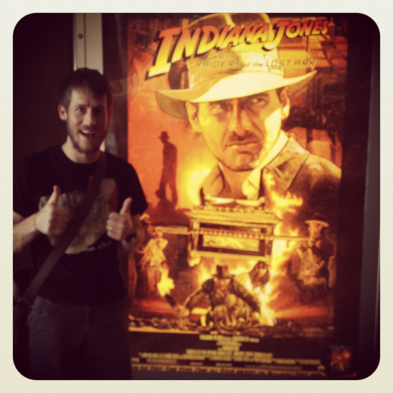 I went to see  Raiders  during its recent re-release. It was great.