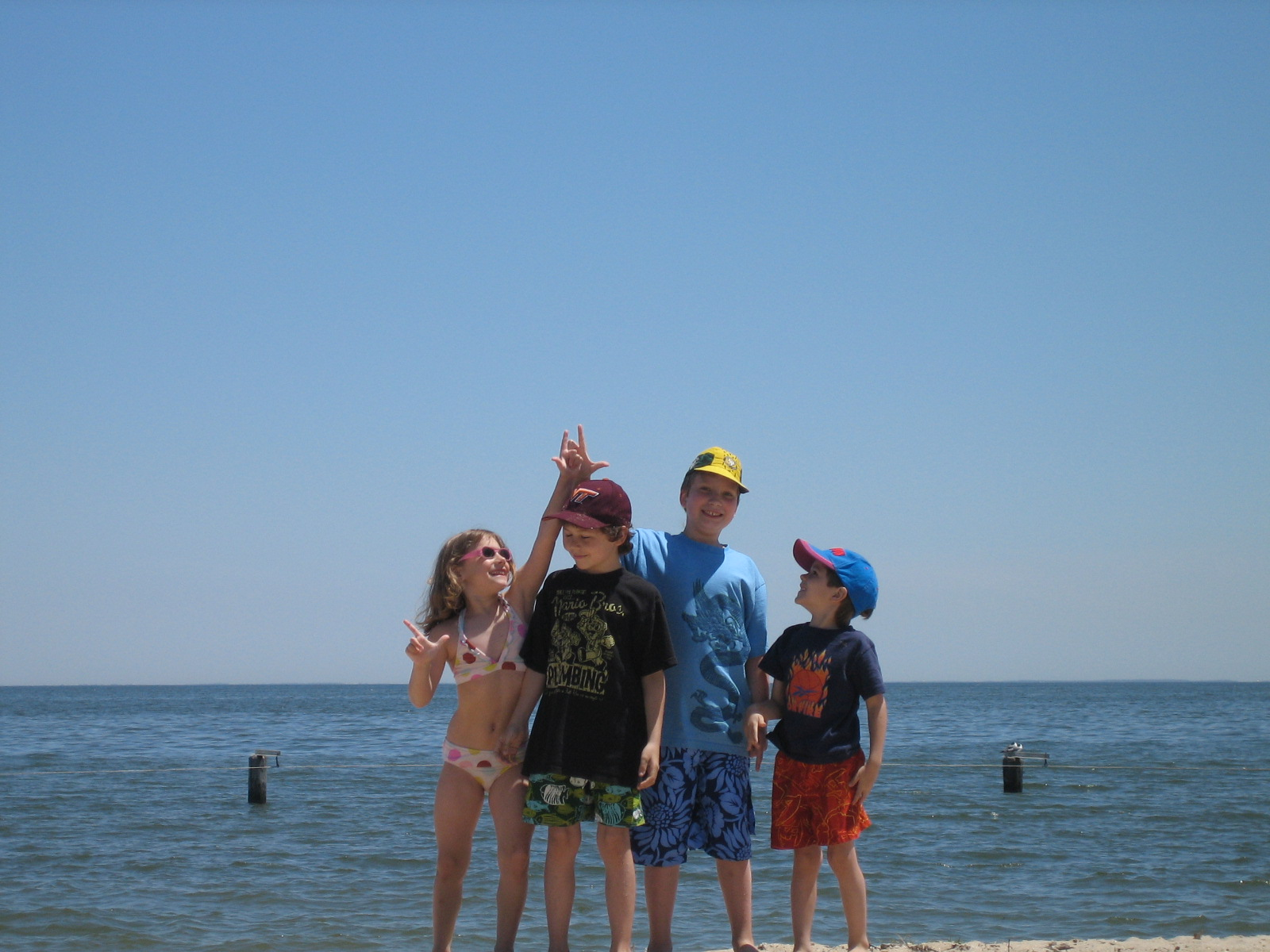 Shark Tooth Hunting at Breezy Point Beach
