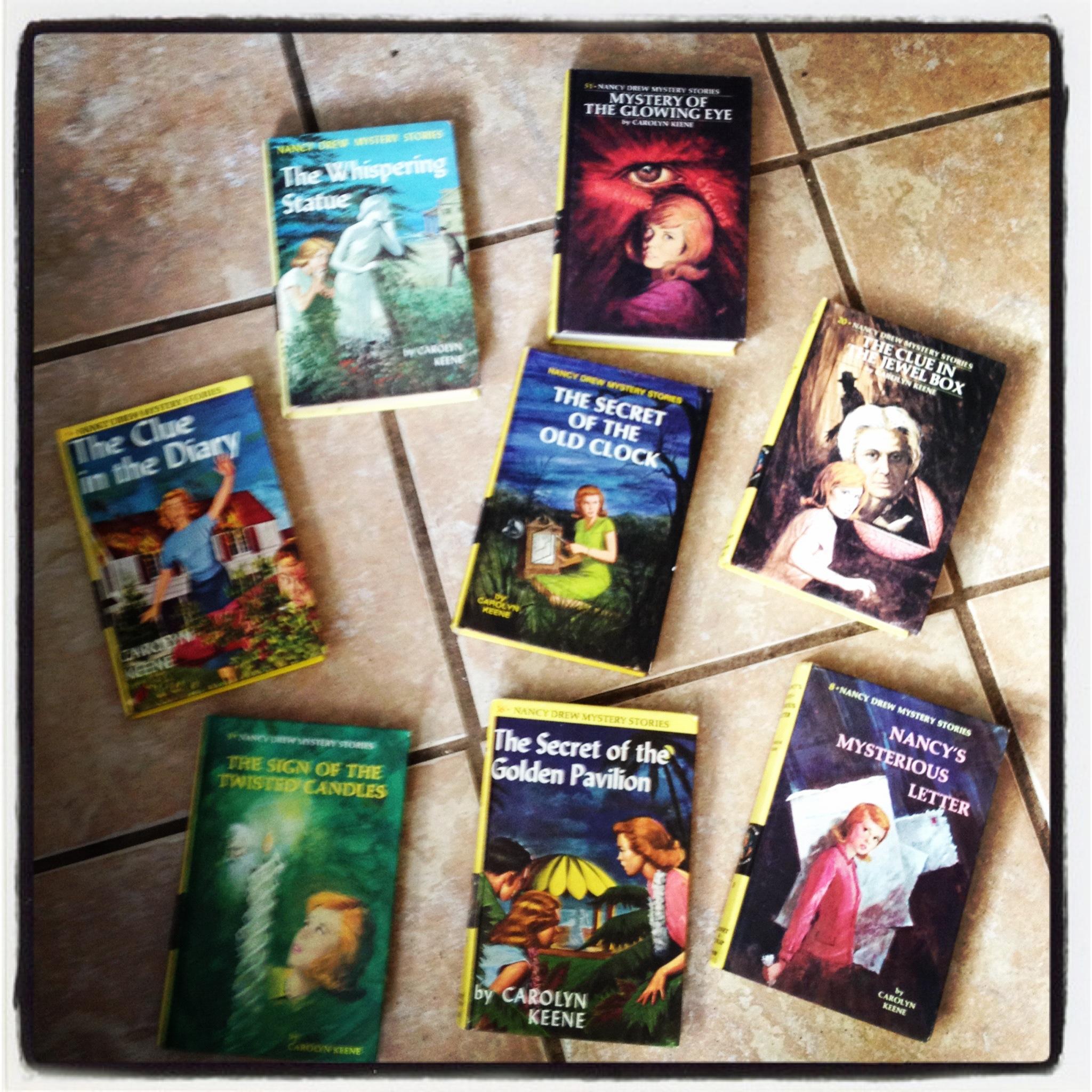 My Childhood Nancy Drew Books