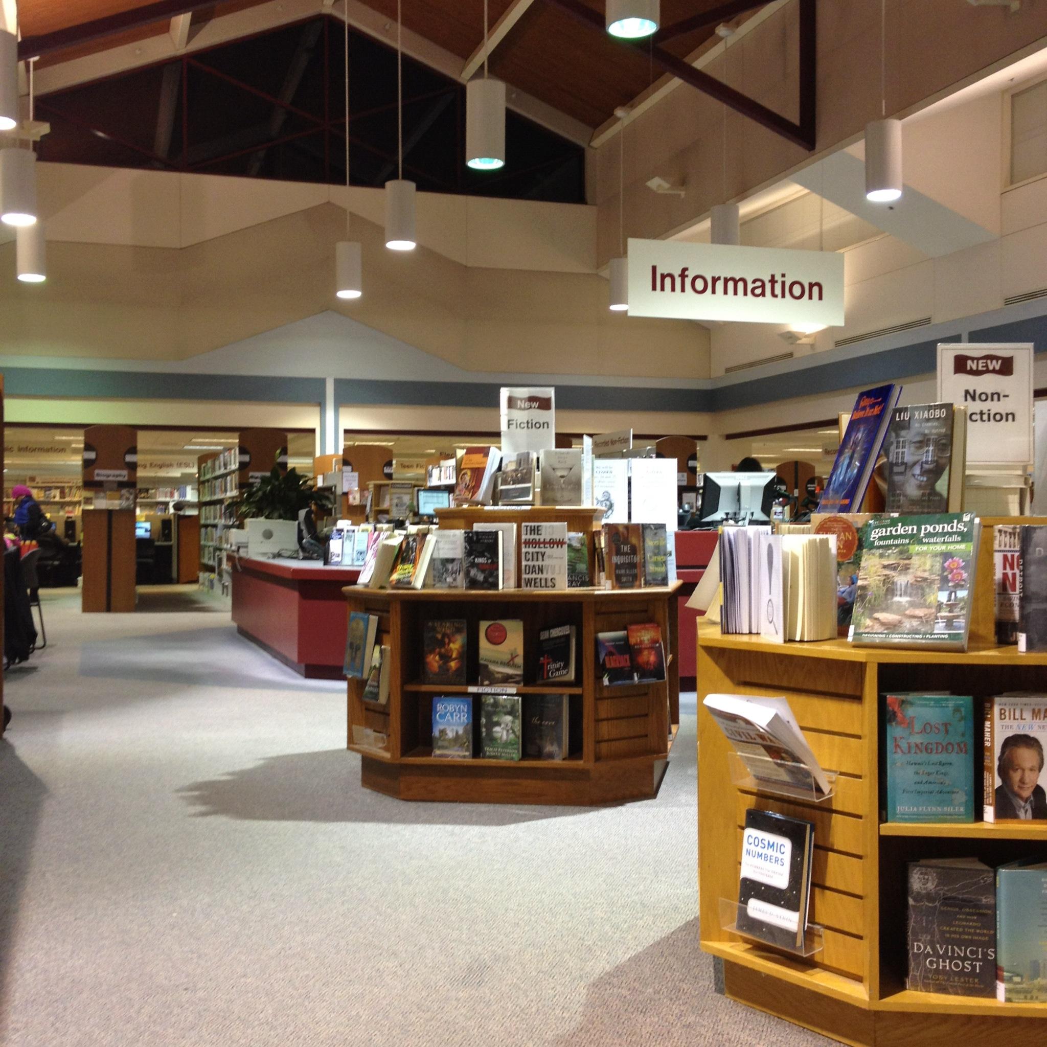 George Mason Regional Library -Annandale Virginia