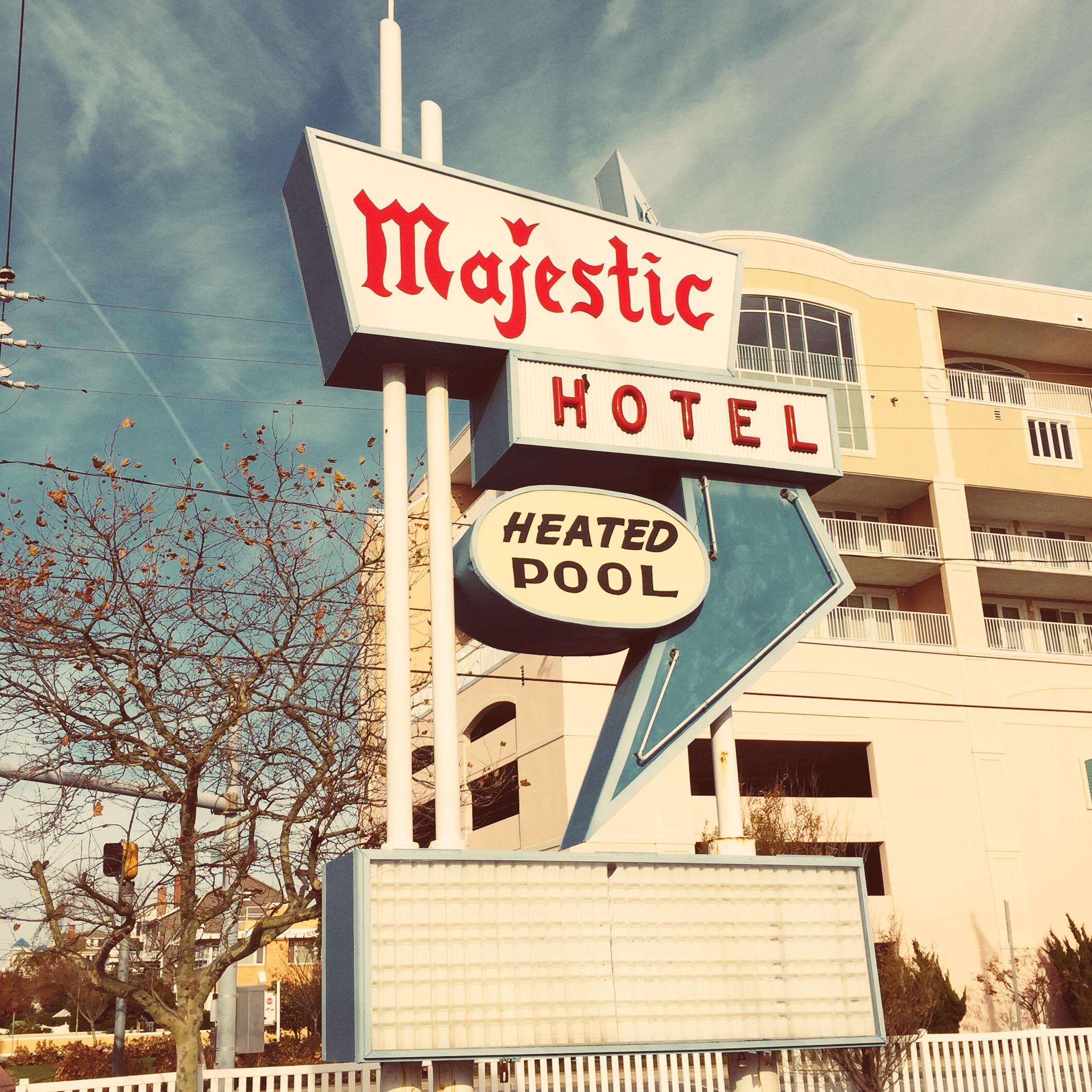Majestic Hotel - 7th Street Ocean City, Maryland 2014