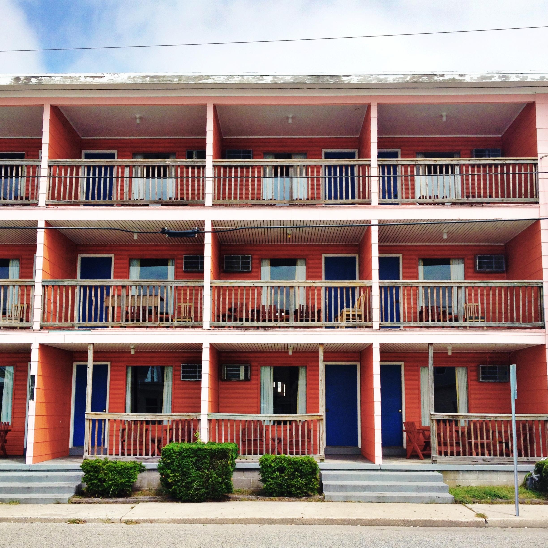 Spindrift Motel - 25th Street Ocean City, Maryland 2013