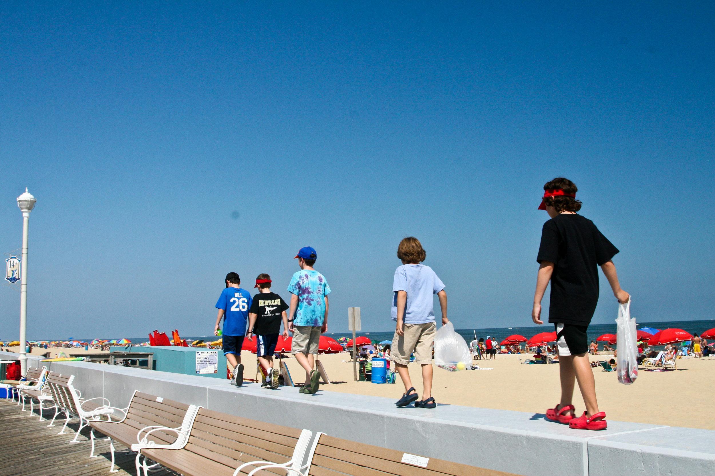 On the Boardwalk - Ocean City, Maryland
