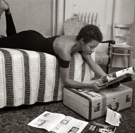 Maya Angelou photographed by G. Marshall Wilson
