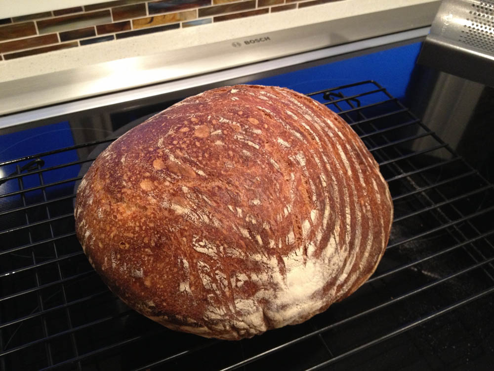 White Bread with 80% Biga