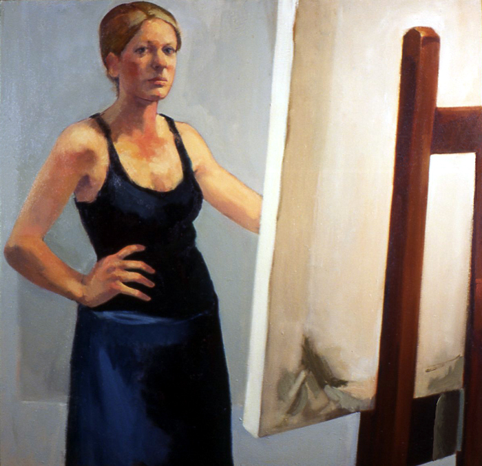 Self Portrait in Painting Smock