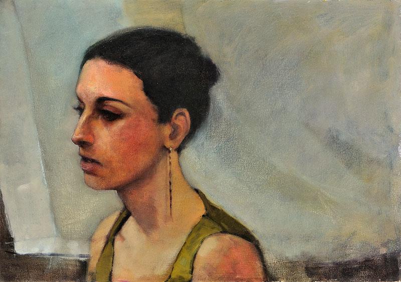 Ariyele, oil on canvas
