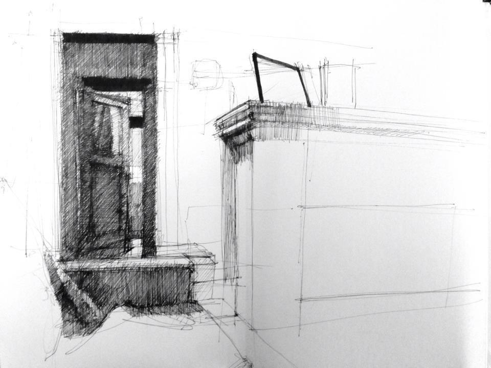 Sketchbook entry, 11/18/13
