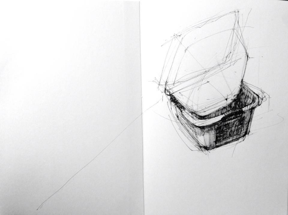 Sketchbook entry, 11/20/2013