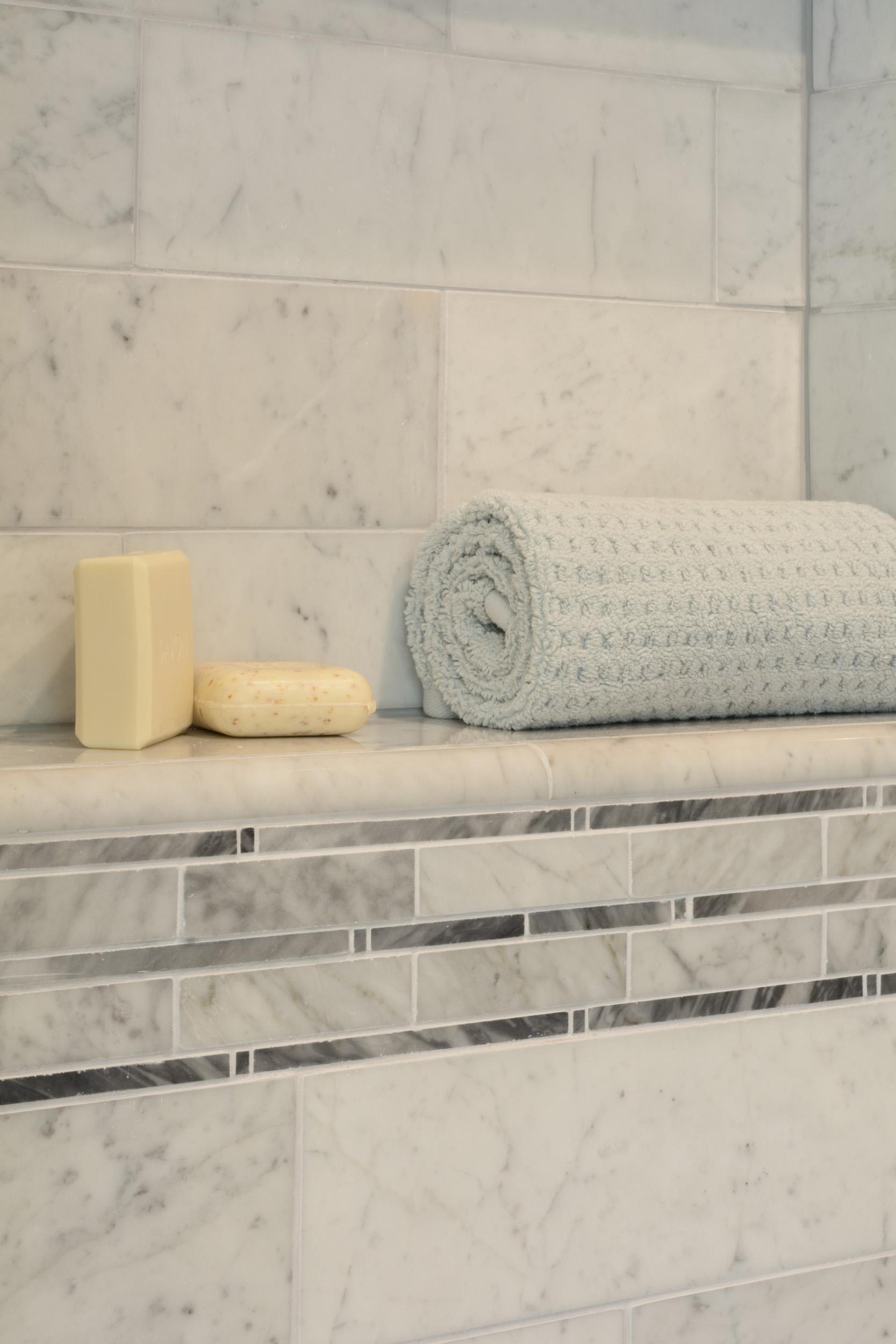 Spa-like retreat shower