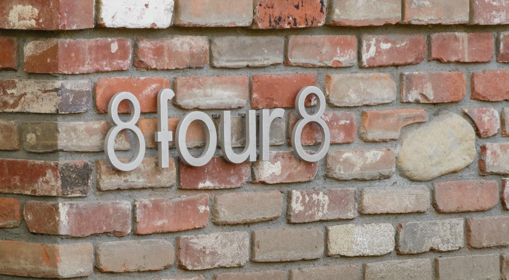 House street numbers: an original and creative display