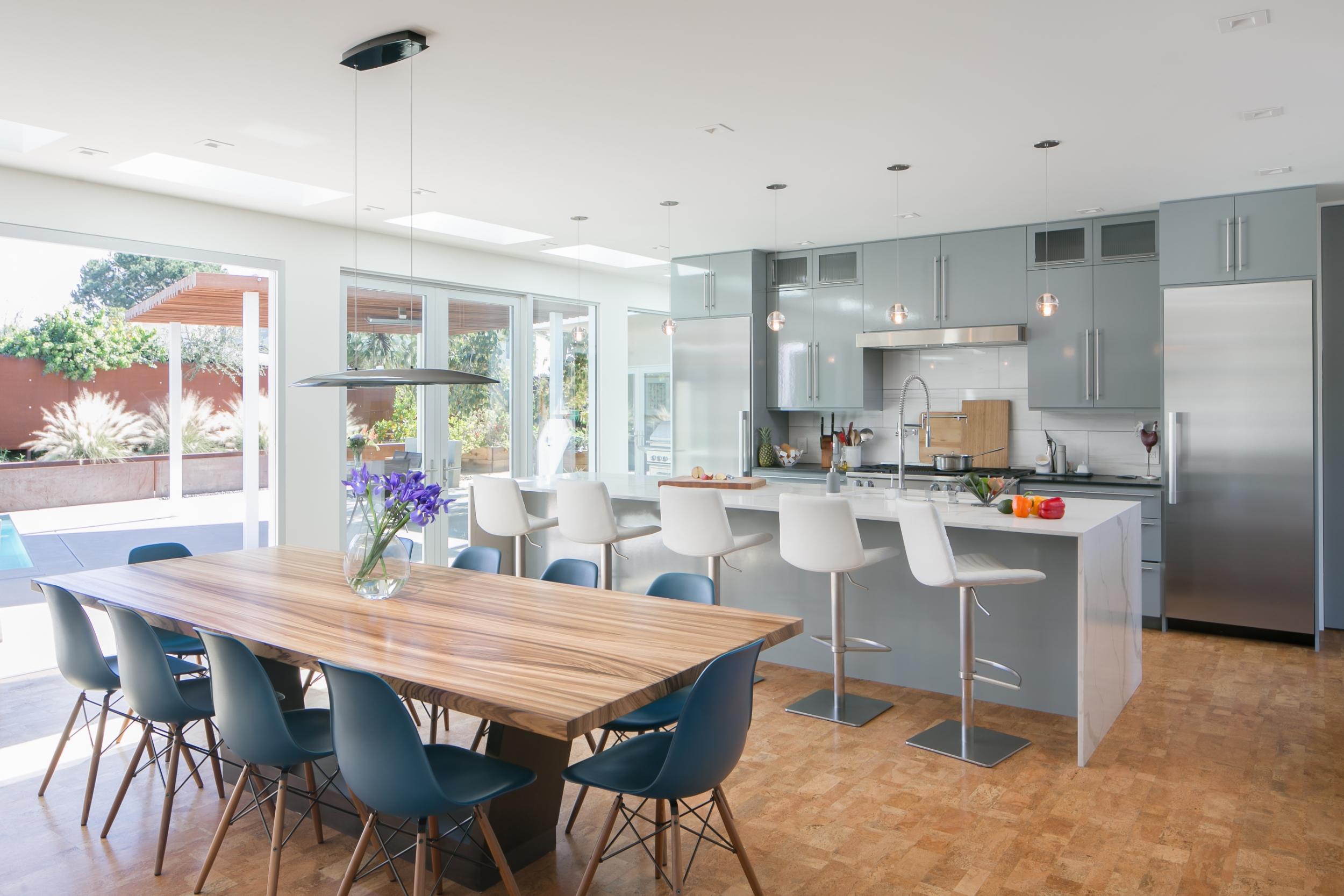 Mid Century Modern Kitchen Design Build Remodeling Lotus