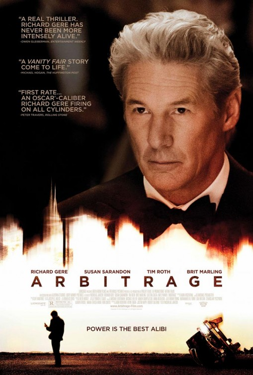 """""""A real thriller. Richard Gere has never been more intensely alive.""""   WTF is """"intensly alive""""? Is it code for """"dead eyes""""? Because I've never seen a actor with eyes that looked more dead than they do right here."""