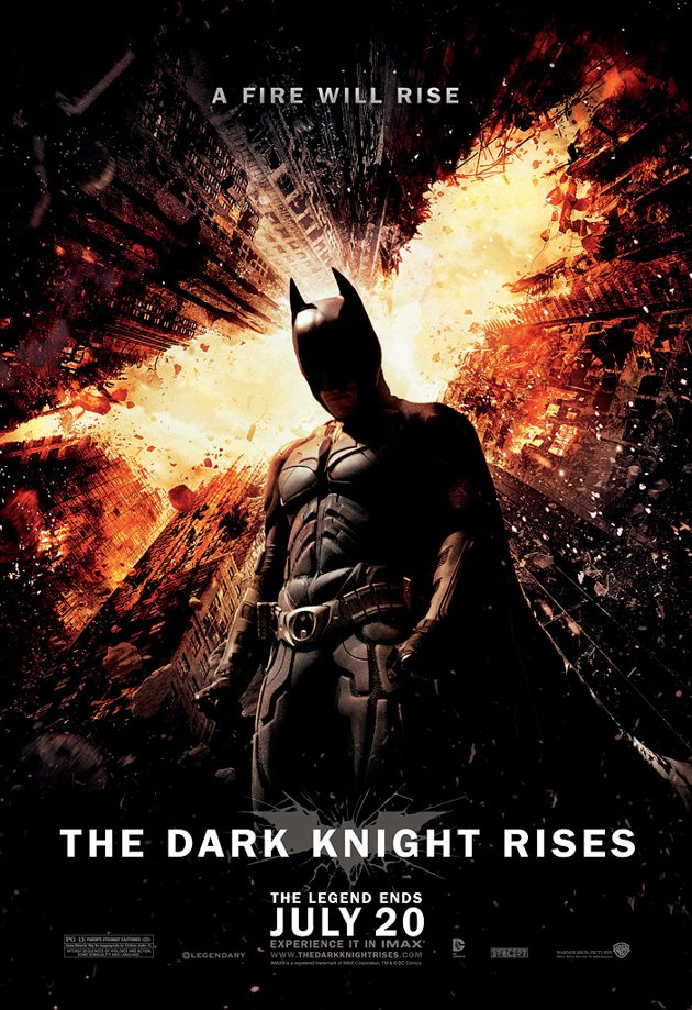 Poster Review: The Dark Knight Rises (III)