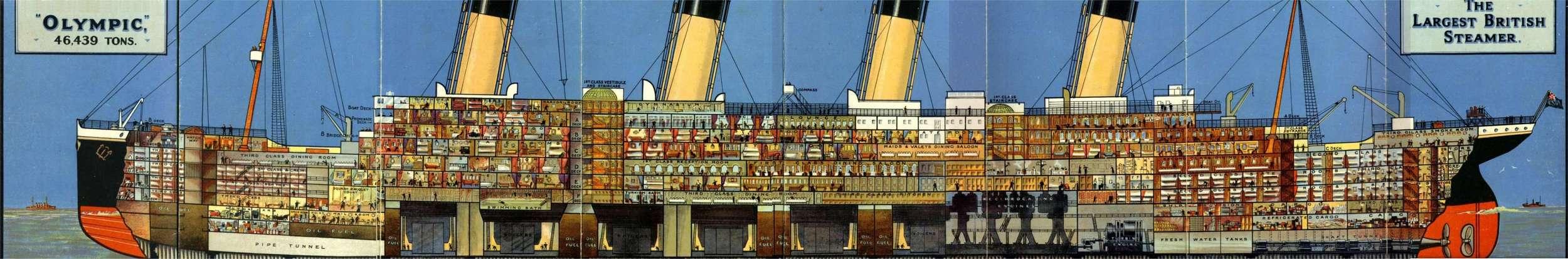 Who Designed Titanic Ultimate