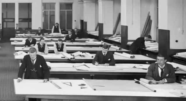 Teams of Draftsmen worked under Andrew's to ensure Titanic was the most elaborate ship of the era.