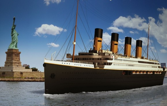 Clive Palmer has high hopes for Titanic II reaching New York in 2016