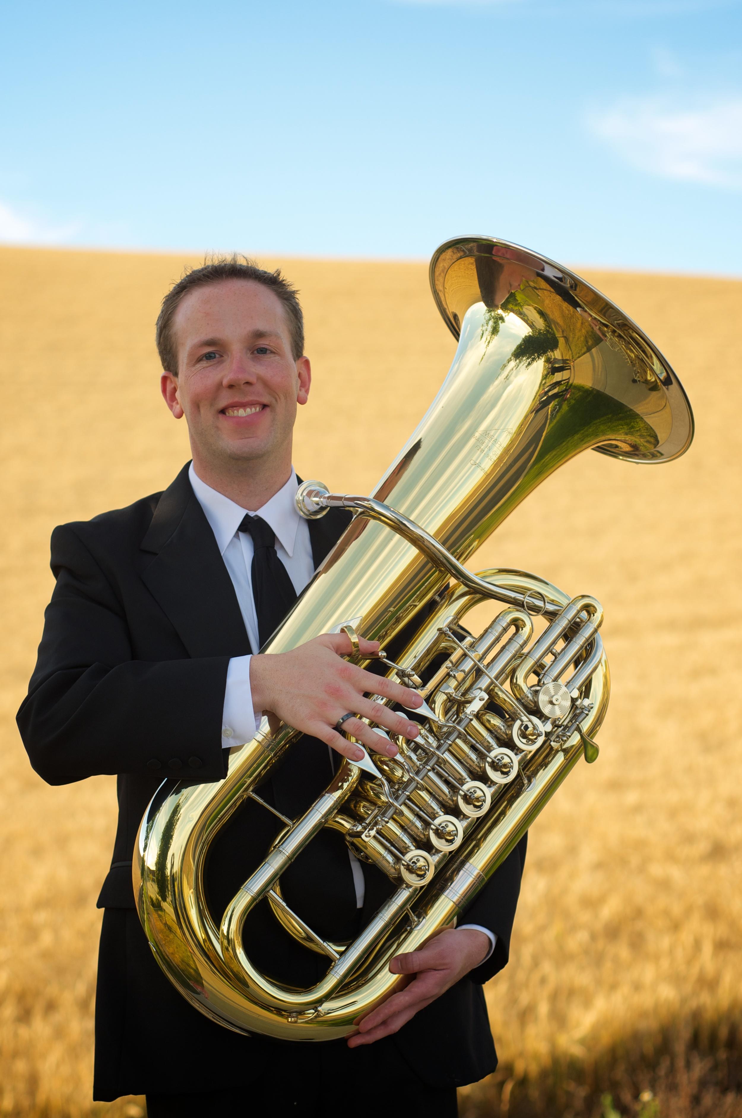 Chris Dickey, tuba/euphonium  Washington State University
