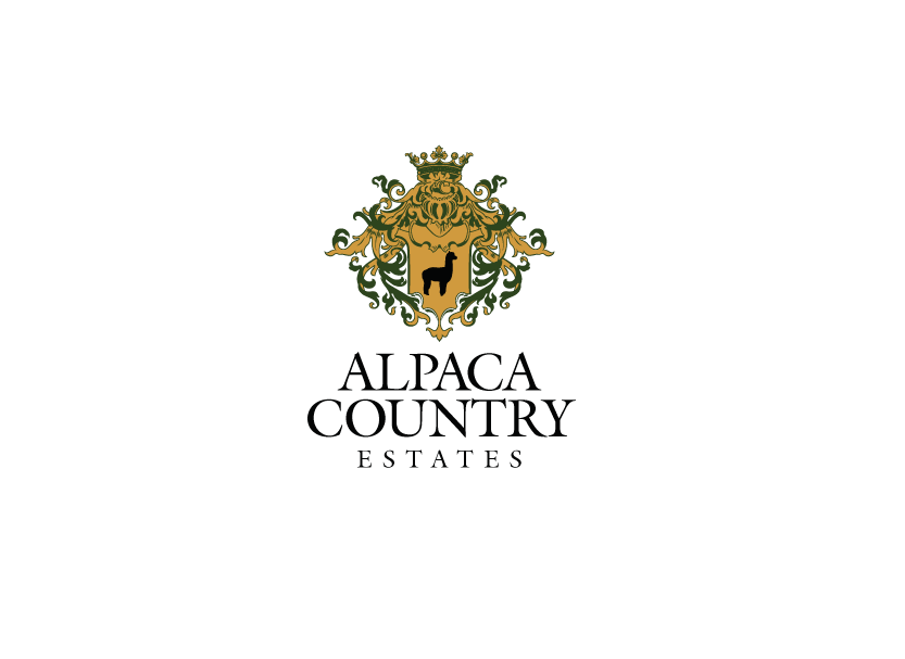 Logo design for a local small business alpaca ranch in Loomis, California.