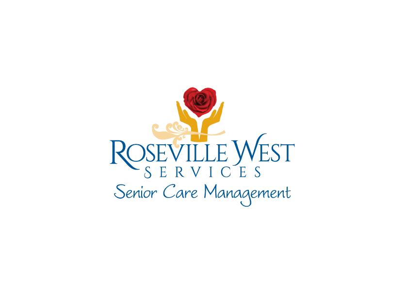 Logo design for Roseville West Services, a senior caremanagementservice company in Roseville, California.