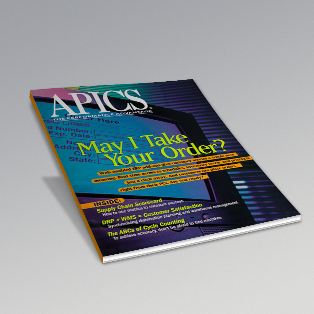 APICS a professional association for supply chain management and a provider of research, education and certification programs. We were responsible for the design, layout and production of the cover and feature articles of the monthly magazine.