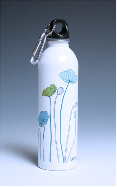 California Poppies design, 20 oz. part of Nature Collection.