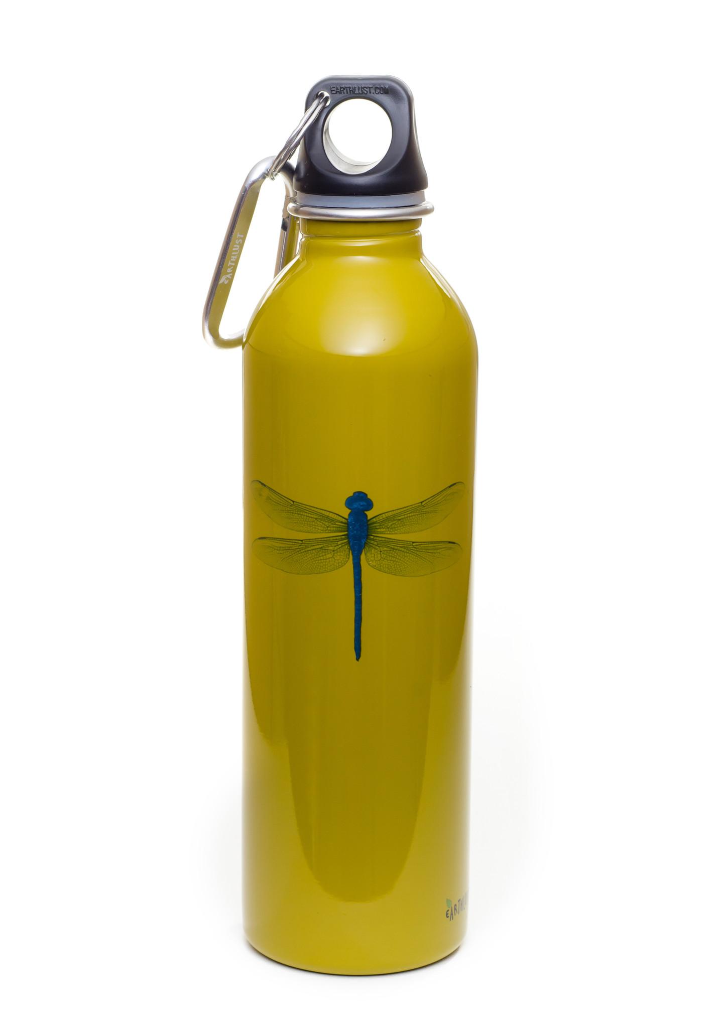 Dragonfly design, 20 oz. bottle.