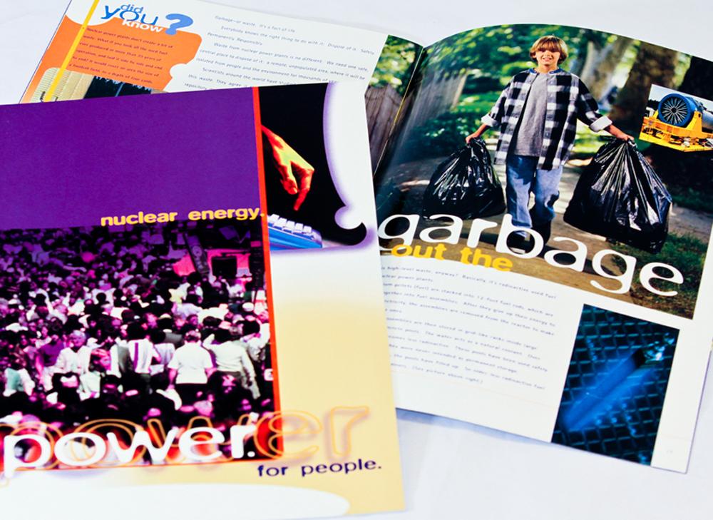 Nuclear Energy Institute, Washington, D.C. - corporate capabilities brochure design.