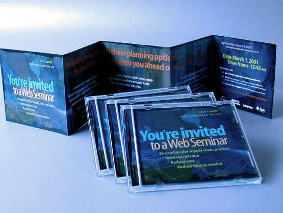 Deloitte & Touche - Direct mail invitational design.