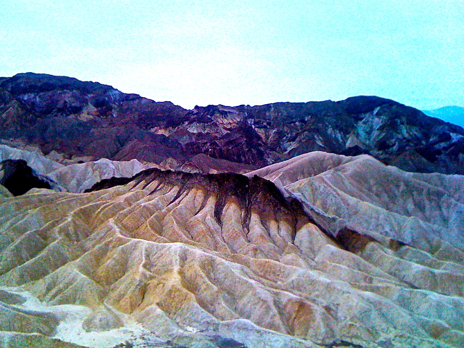 Part of the powerful temple in the Death Valley. Perfectly crafted by nature.