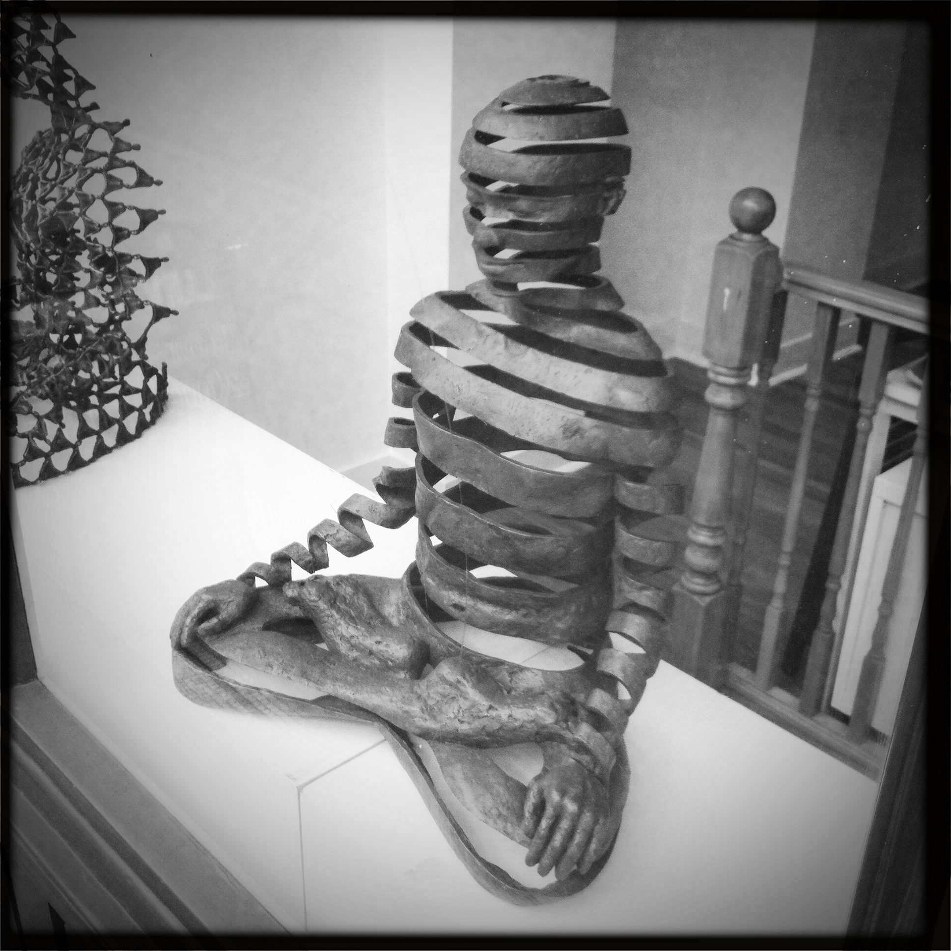 Pphoto taken from a gallery in London - a spiritual practitioner experiencing transformation.
