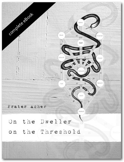 ON THE DWELLER ON THE THRESHOLD  (SALE $ 0.00 / Standard Price $ 15.00)