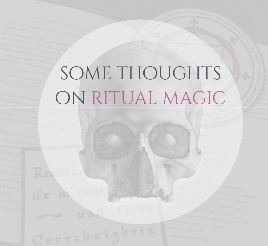 On Ritual Magic Theomagica.com