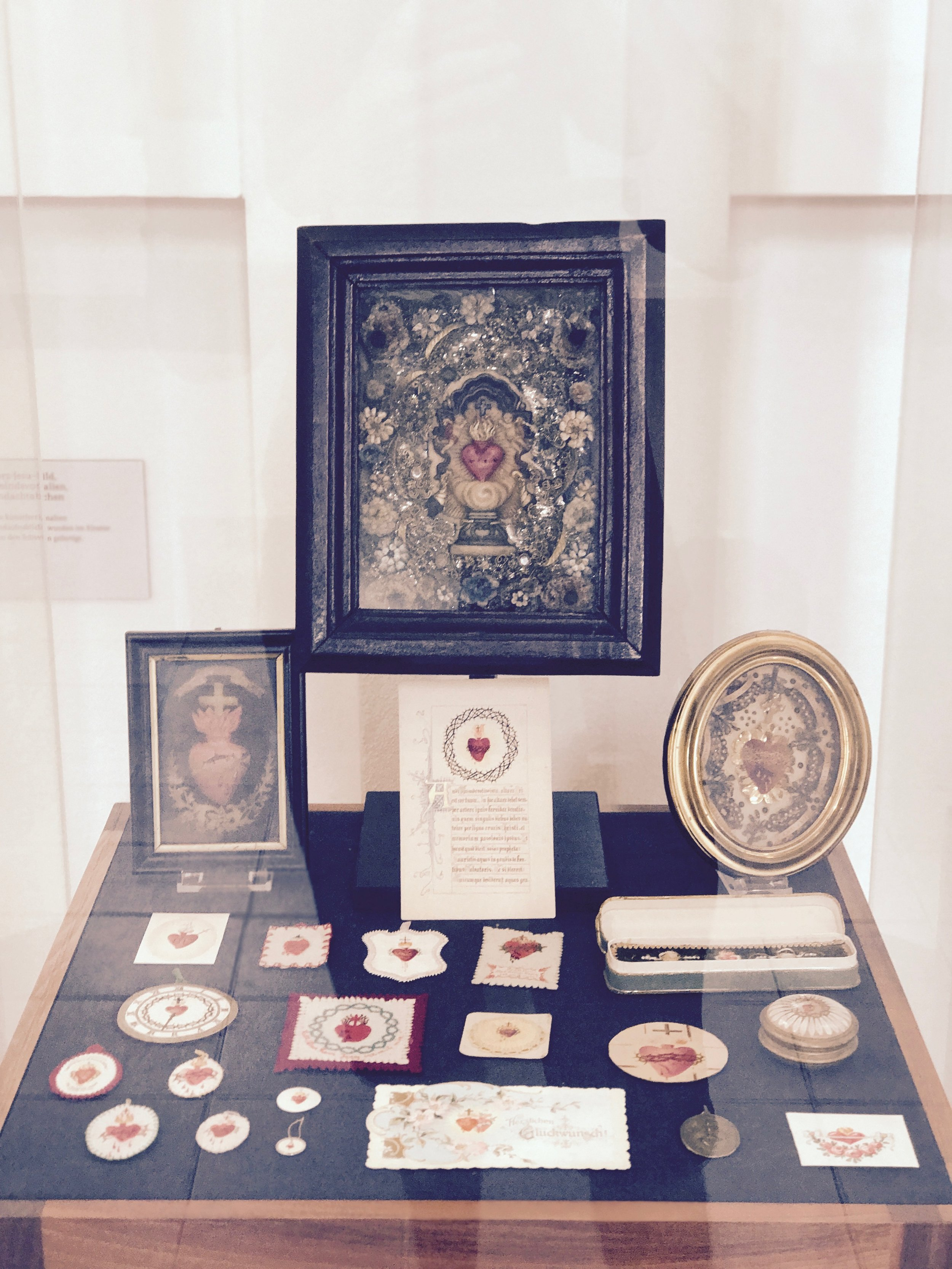 devotional relics emphasising the importance of empathy and suffering