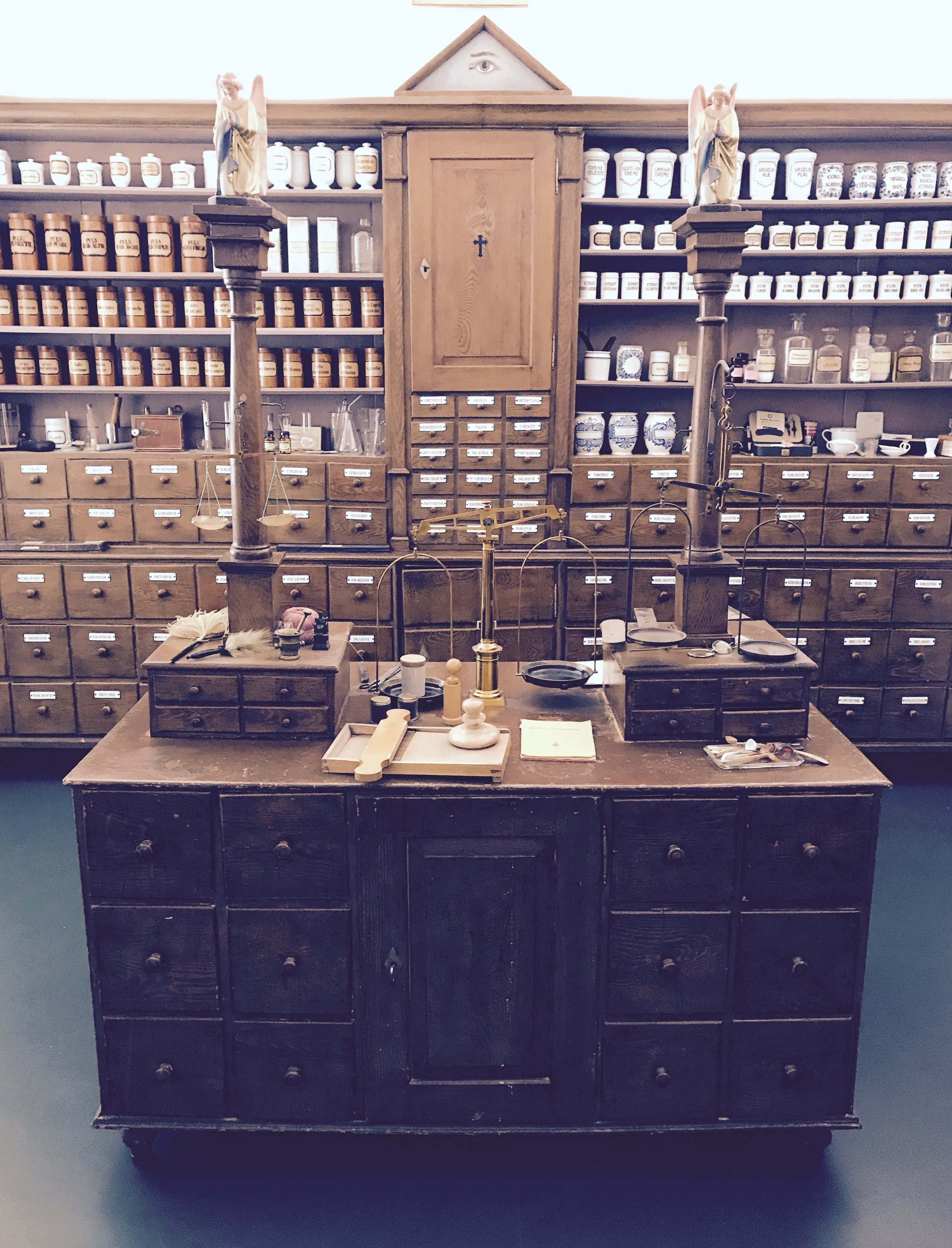central view into the spiritual pharmacy