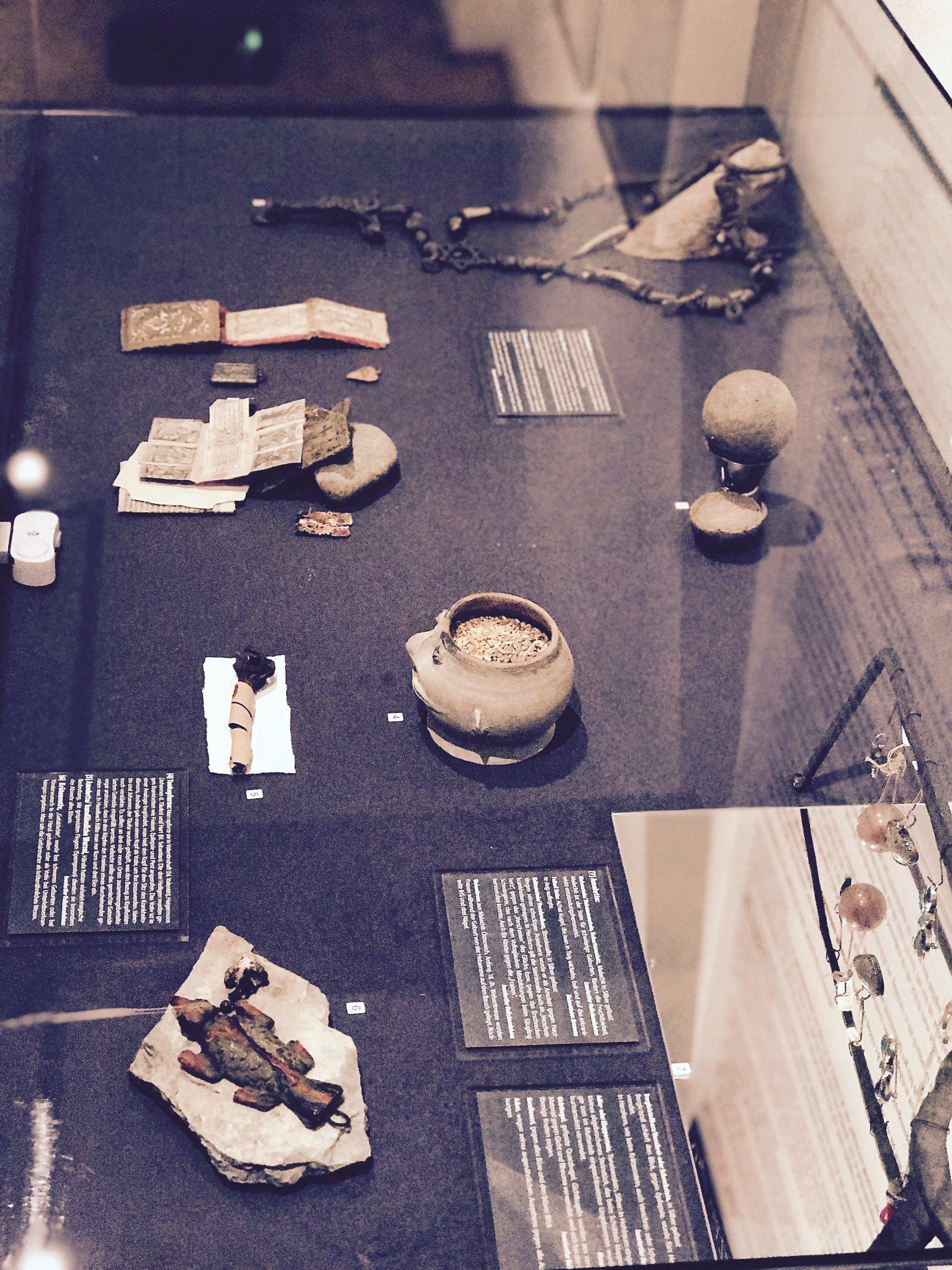assorted votive offerings