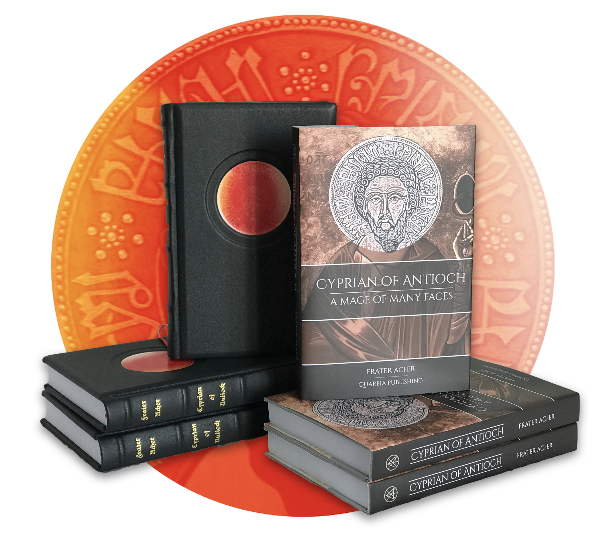 Cyprian of Antioch: A Mage of Many Faces - 310 pages, full color. Standard hardcover and full-leather Deluxe Editions available now.