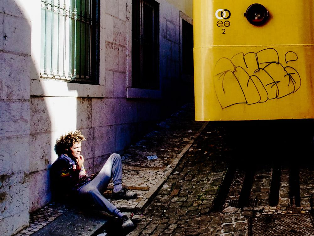 Relaxing in Lisbon