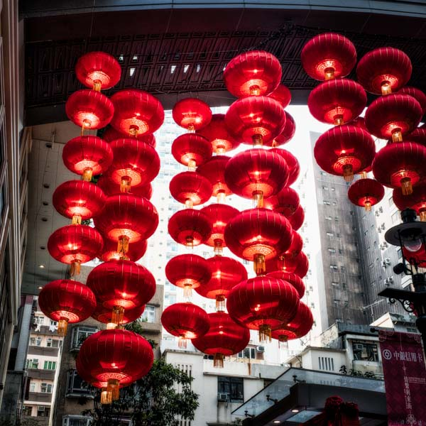 Red at the Chinese New Yeat