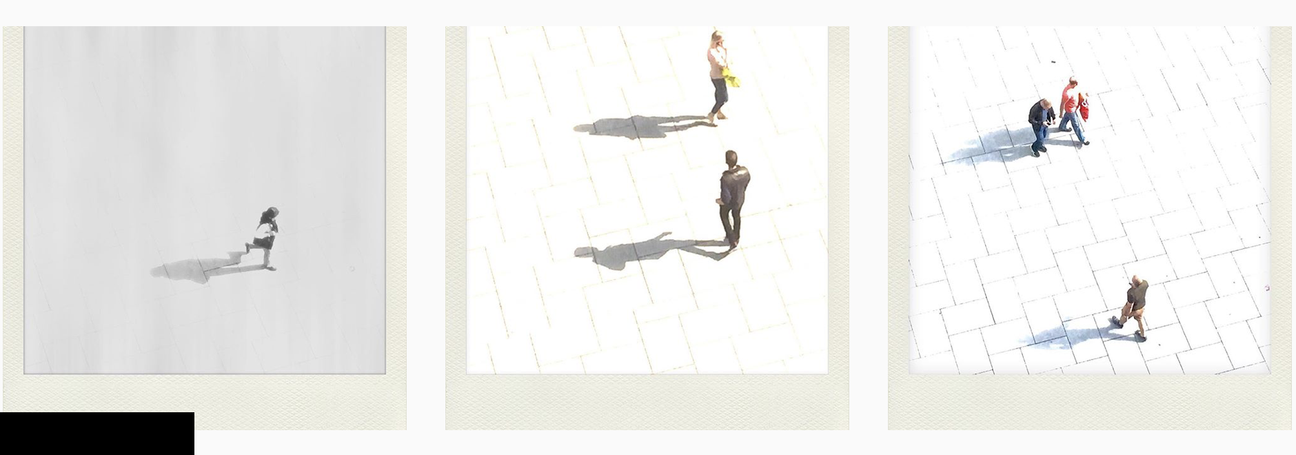 people in cities - minimalized activities
