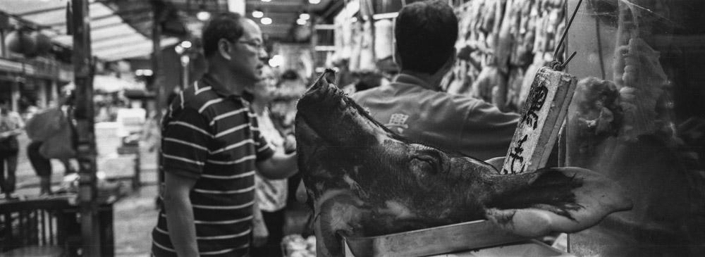 Graham Market in Hong Kong