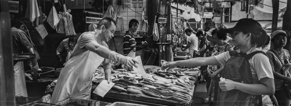 Fresh fish and a good bargain