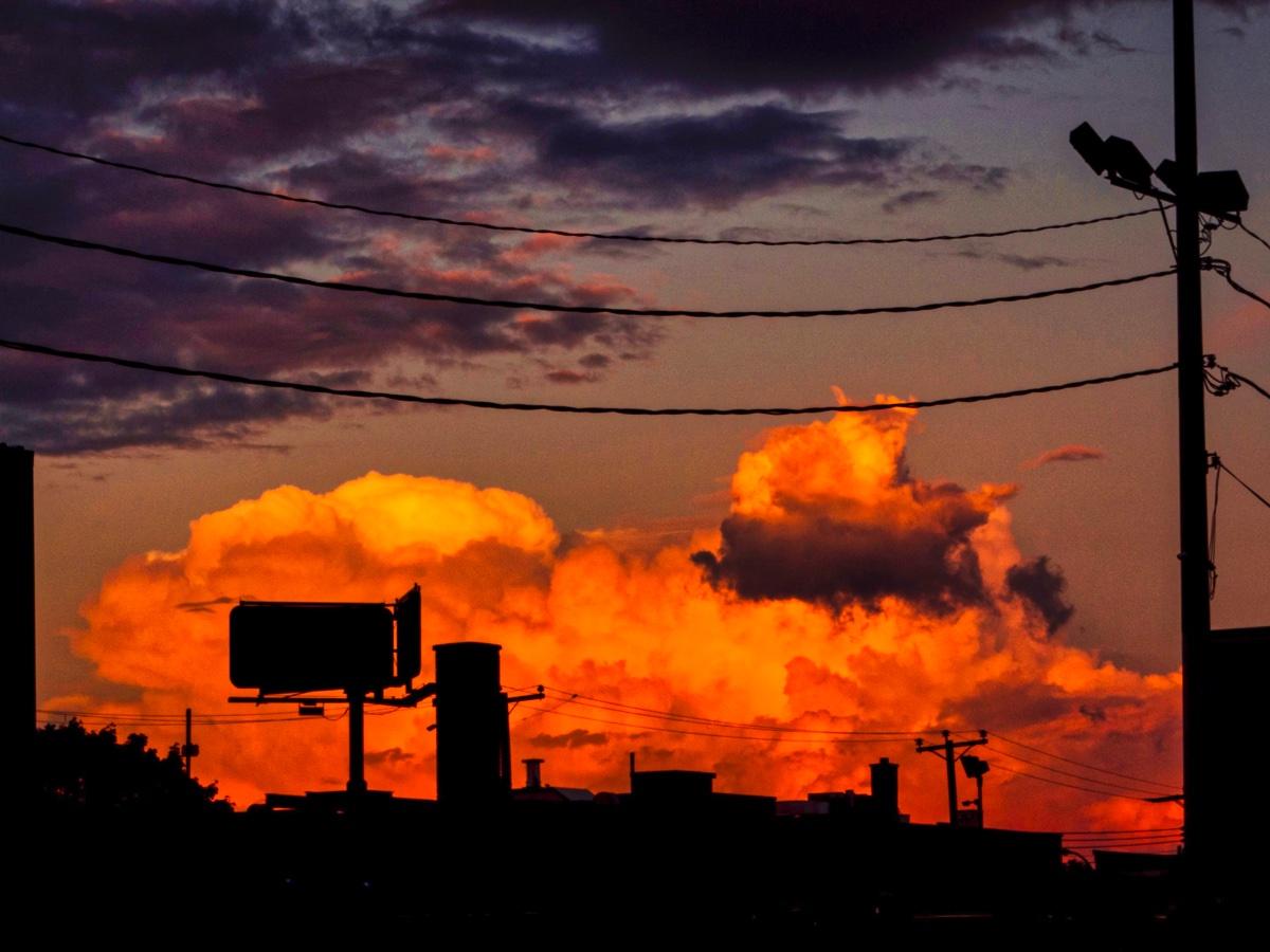An easy taken sunset