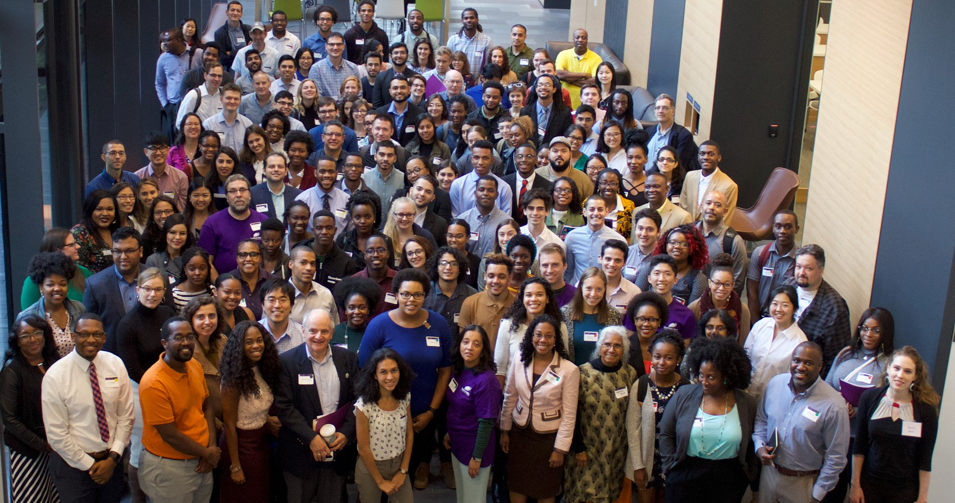 StatFest 2018  attendees. This conference aims to encourage undergraduate students from historically underrepresented groups to consider careers and graduate studies in statistical science. It was a great event!
