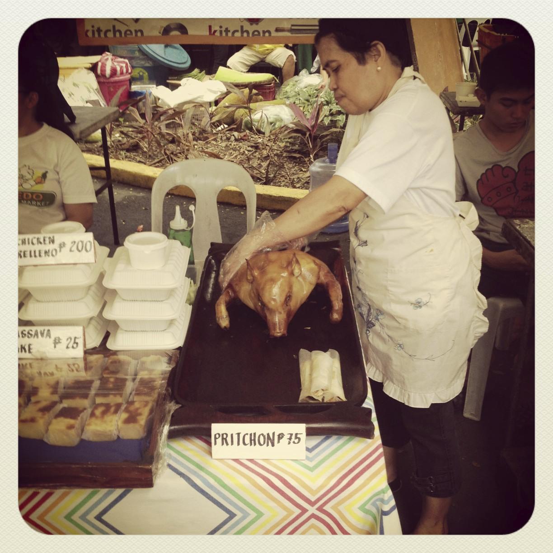 A little piggy in the market