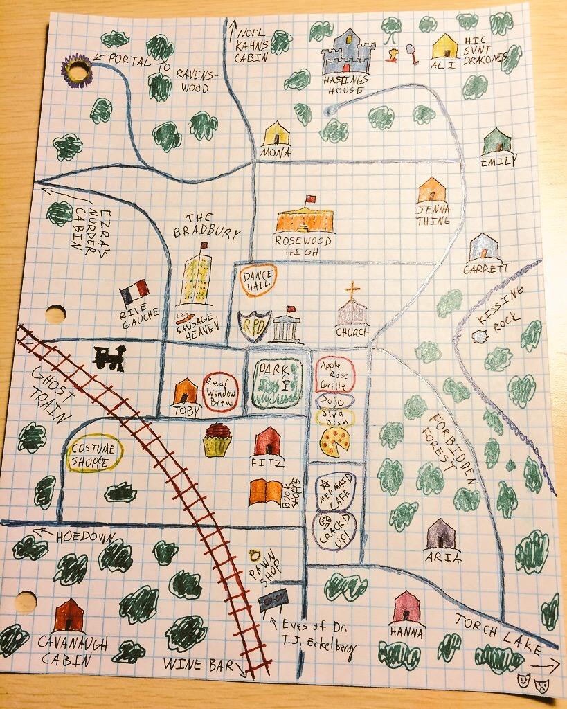 Benjamin Light's map