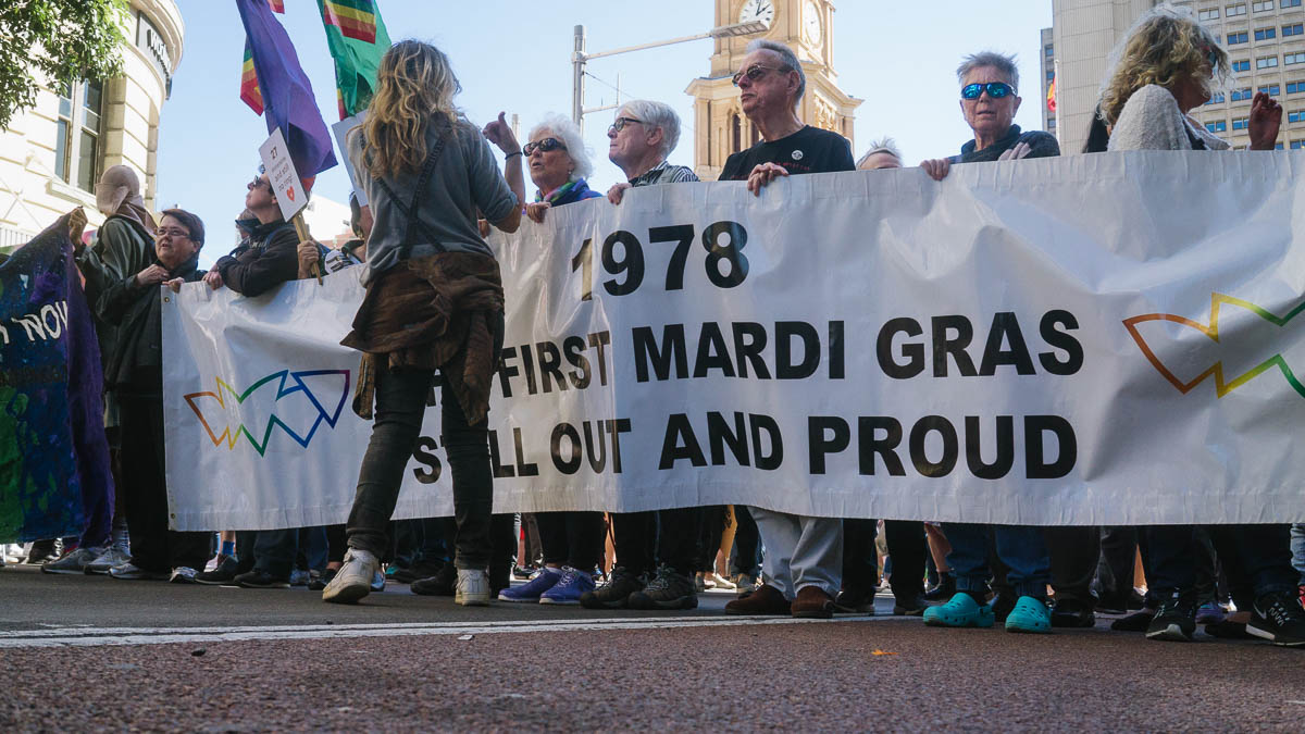 39 years later... - Then it was to decriminalise homosexuality, now it is for the right to get Married.