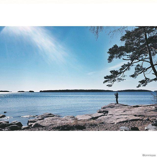 #mothernature #sky #fishing #finland #amazing #nature_shooters #natureaddict #nature_perfection #striking_ig_captures #ic_landscapes #sun #colorful #nakedplanet #outdoorpassion #all_shots #ig_europe #ig_worldclub #nature #photooftheday #instadaily #sea #mobilemag #scandinavia #landscape #landscape_lovers #blue #instagood #bestoftheday #fuji #fujifilm