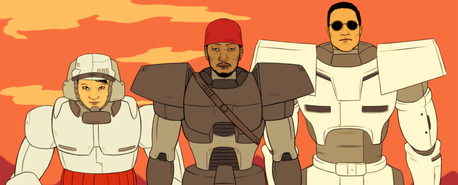 Yo it's three thousand thirty I want y'all to meet Deltron Zero, and Automator